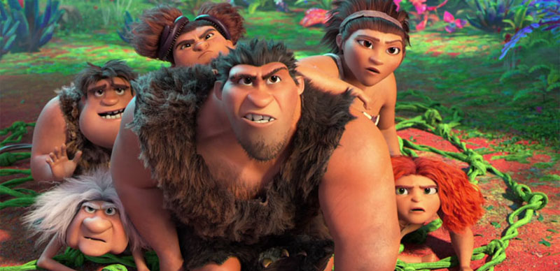 THE CROODS: A NEW AGE - Now Playing