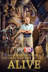 David Attenborough's Natural History Museum Alive 3D Poster