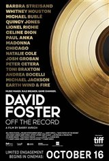 David Foster: Off the Record Movie Poster