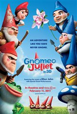 Gnomeo & Juliet Movie Poster
