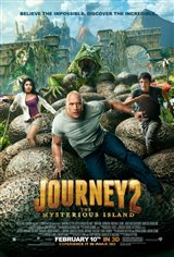 Journey 2: The Mysterious Island 3D Movie Poster