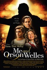 Moi et Orson Welles Movie Poster