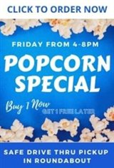 Popcorn Pick Up Friday Poster