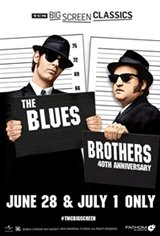 The Blues Brothers (1980) 40th Anniversary presented by TCM Movie Poster