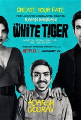 The White Tiger (Netflix) Poster