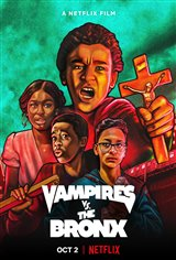 Vampires vs. the Bronx (Netflix) Movie Poster