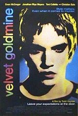 velvet goldmine Movie Poster