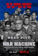 War Machine (Netflix) Movie Poster