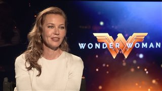 Connie Nielsen Interview - Wonder Woman