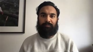 Himesh Patel on filming 'The Luminaries' with Eva Green in New Zealand - Interview