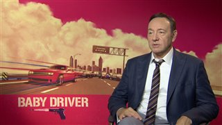 Kevin Spacey Interview - Baby Driver