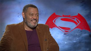 Laurence Fishburne Interview - Batman v Superman: Dawn of Justice