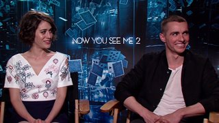 Lizzy Caplan & Dave Franco - Now You See Me 2