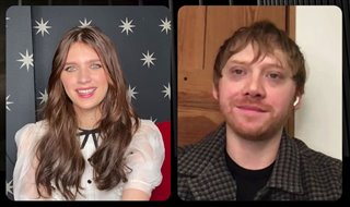 Rupert Grint and Nell Tiger Free talk about Season 2 of 'Servant' - Interview
