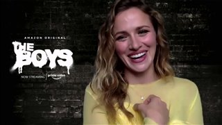 Shantel VanSanten talks about Season 2 of 'The Boys' - Interview