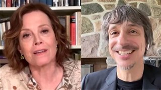 Sigourney Weaver & Philippe Falardeau on fan letters and 'My Salinger Year' - Interview