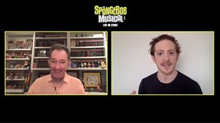 Tom Kenny & Ethan Slater talk 'The SpongeBob Musical: Live on Stage!' - Interview