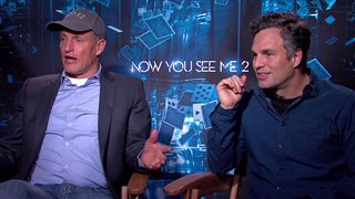 Woody Harrelson & Mark Ruffalo - Now You See Me 2
